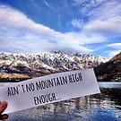 Ain't No Mountain High Enough by irishkiwipcards