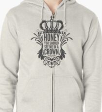 In A Crown - Deluxe Edition Zipped Hoodie