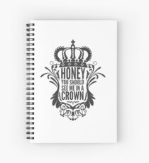 In A Crown - Deluxe Edition Spiral Notebook