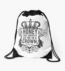 In A Crown - Deluxe Edition Drawstring Bag