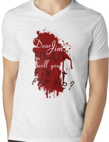 Dear Jim, Fix It For Me Mens V-Neck T-Shirt