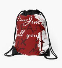 Dear Jim, Fix It For Me Drawstring Bag