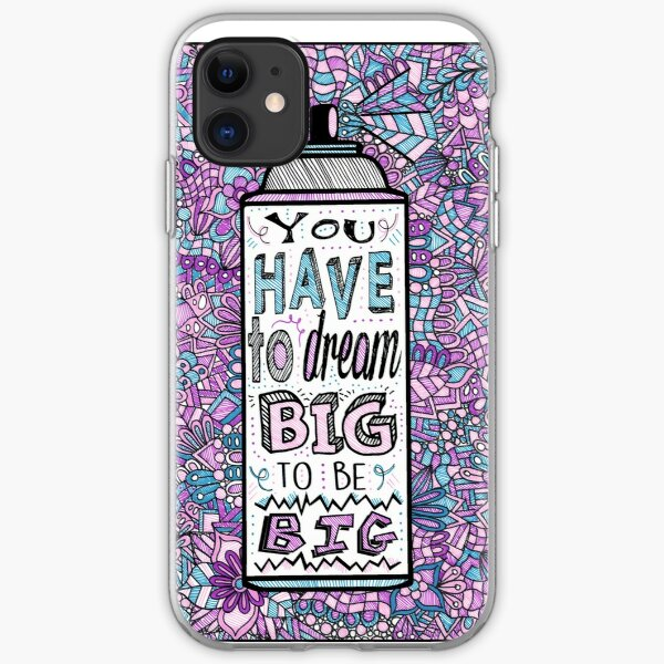 Hairspray Dream Zentangle iPhone Soft Case