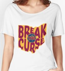 Break The Cleveland Curse Women's Relaxed Fit T-Shirt