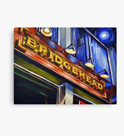 Bridgehead Canvas Print