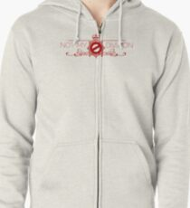 Not My Division Zipped Hoodie