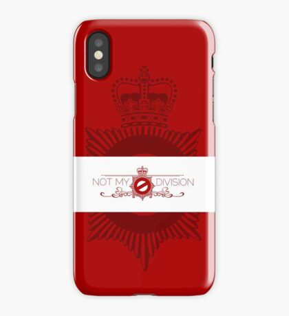 Not My Division iPhone Case