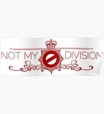Not My Division Poster