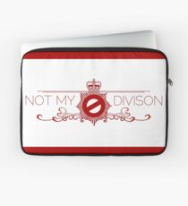 Not My Division Laptop Sleeve
