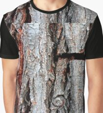 Weeping Willow Tree Bark Graphic T-Shirt