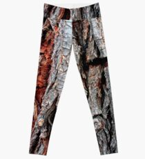 Weeping Willow Tree Bark Leggings