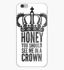 In A Crown iPhone Case