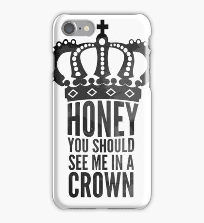 In A Crown iPhone Case/Skin