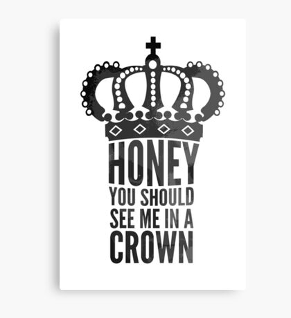 In A Crown Canvas Print