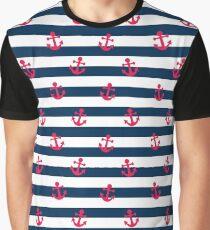 Sailor Print Graphic T-Shirt