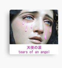 Angel Tears Canvas Print