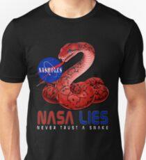 NASA Lies - Never Trust a Snake Unisex T-Shirt