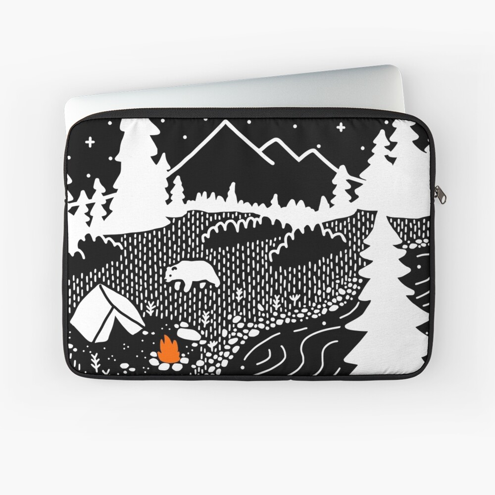 Unwelcome Guest Laptop Sleeve