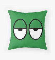 Unimpressed Throw Pillow