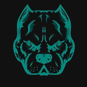 Blue Dog by MrZafra