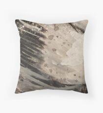 Marble Blast  Throw Pillow
