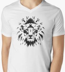 Lionheart Mens V-Neck T-Shirt