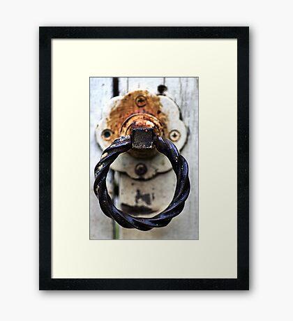 Beware of Dogs..... Framed Print