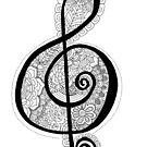 Flower & Song by Rosanna Alvarez by CitlaliRose