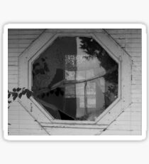 Old Window Sticker