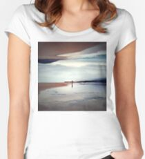 Ghost on the Shore Women's Fitted Scoop T-Shirt