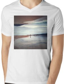 Ghost on the Shore Mens V-Neck T-Shirt