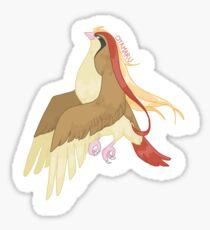 Pokémon - Pidgeot Sticker