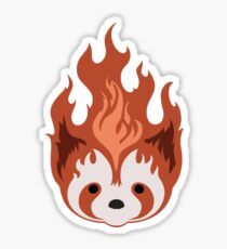 Legend of Korra Fire Ferrets - small icon Sticker