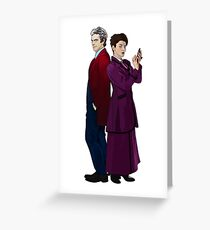 Missy and The Doctor Greeting Card