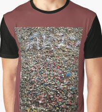 Gum Wall Graphic T-Shirt