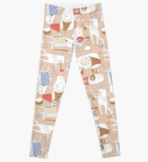 Cats band Leggings