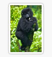 Playful Primate Sticker