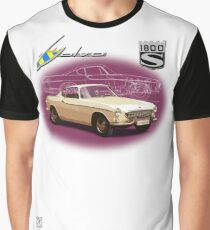 Volvo P1800S Coupe (best on black) Graphic T-Shirt