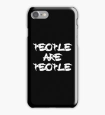 People Are People - Depeche Mode iPhone Case/Skin