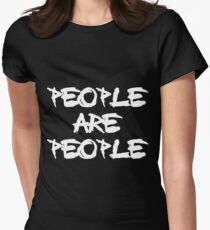 People Are People - Depeche Mode Women's Fitted T-Shirt