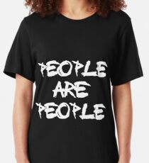 People Are People - Depeche Mode Slim Fit T-Shirt