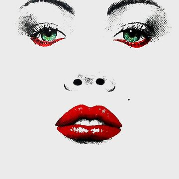 Red Lips by bichopalo
