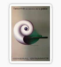 General Dynamics Hydrodynamics Sticker