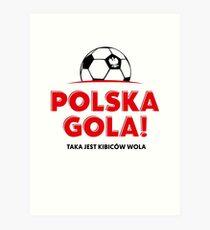 Euro 2016. Polska Gola! Art Print