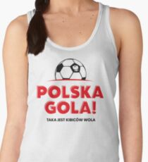 Euro 2016. Polska Gola! Women's Tank Top