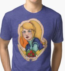 Samus: the Bounty Hunter Tri-blend T-Shirt