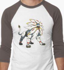 POKEMON SUN AND MOON - SOLGALEO Men's Baseball ¾ T-Shirt