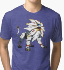 POKEMON SUN AND MOON - SOLGALEO Tri-blend T-Shirt