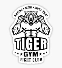 Angry tiger Sticker