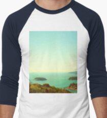 Ocean landscape Men's Baseball ¾ T-Shirt